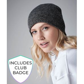 Pull-On Beanie WITH BADGE